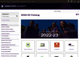 catalog.weber.edu