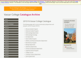 catalogarchive.vassar.edu