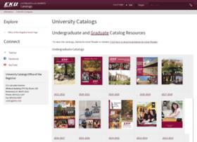 catalogs.eku.edu