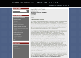 catalogs.marymount.edu