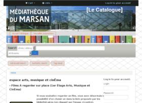 catalogue.lamediathequedumarsan.fr