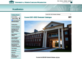 catalogue.uncw.edu