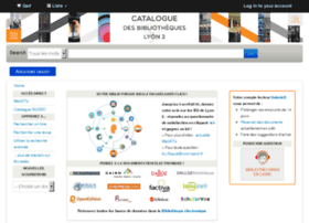 catalogue.univ-lyon2.fr