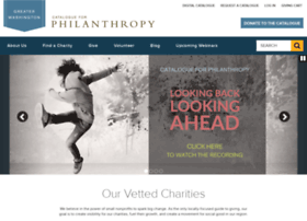 catalogueforphilanthropy-dc.org