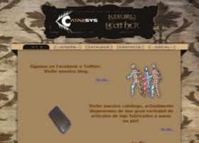 catarsys-leather.com