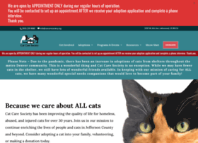 catcaresociety.org
