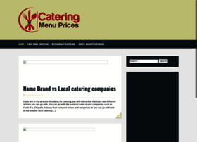 cateringmenuprices.com