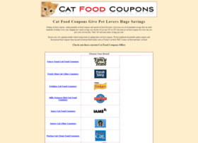 catfood-coupons.com