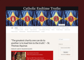 catholicendtimetruths.com