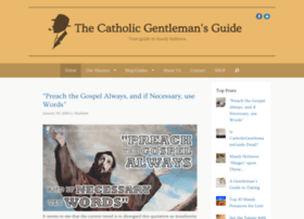 catholicgentlemansguide.com