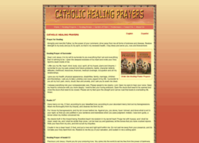 catholichealingprayers.com