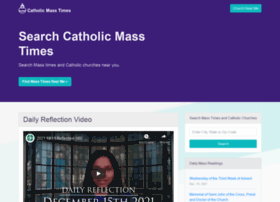 catholicmasstime.org