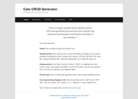 catocrudgenerator.com