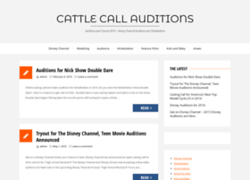 cattlecallauditions.com