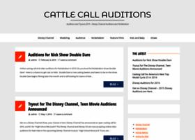 cattlecallauditions.com