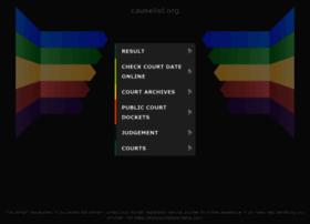 causelist.org