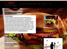 cavemanburgers.com