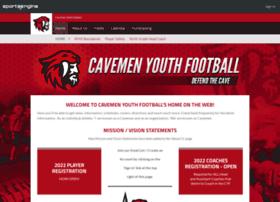 cavemanyouthfootball.com