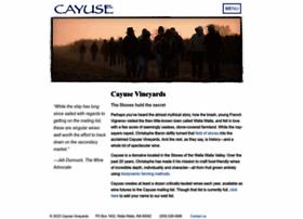 cayusevineyards.com