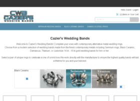 caziersweddingbands.com