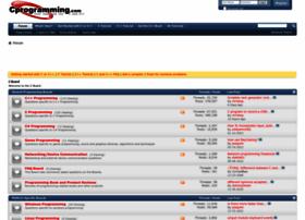 cboard.cprogramming.com