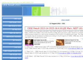 cbseresult2013.com