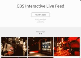 cbsinteractivelivefeed.splashthat.com