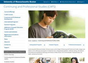 ccde.umb.edu