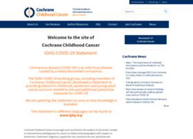 ccg.cochrane.org