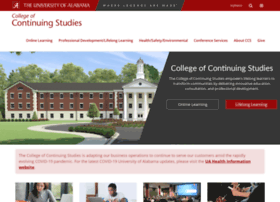 ccs.ua.edu