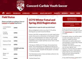 ccysoccer.org