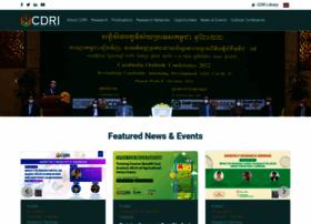 cdri.org.kh