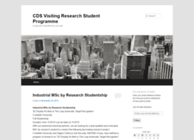 cdsvisitingresearchstudentprogramme.wordpress.com