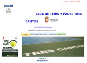 cdtenis-trescantos.com