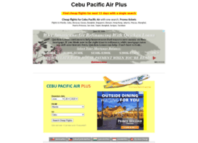 cebupacificairplus.com