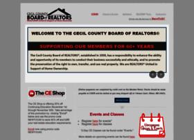 cecilcountyboardofrealtors.com