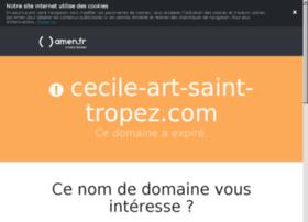 cecile-art-saint-tropez.com