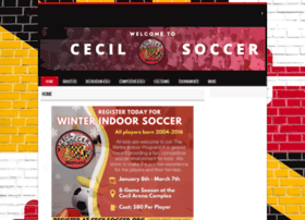 cecilsoccer.org
