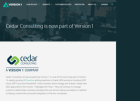 cedarconsulting.co.uk