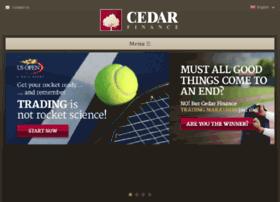 cedarfinance.com