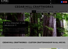 cedarmillcraftworks.com