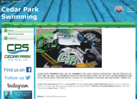 cedarparkswimming.org