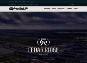 cedarridge.roundrockisd.org