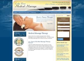 cedarrivermedicalmassage.com