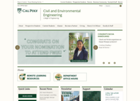 ceenve.calpoly.edu