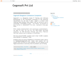 cegonsoftcomplaints.blogspot.in
