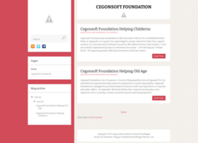 cegonsoftfoundation.blogspot.in