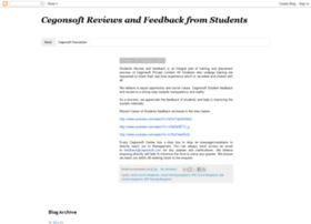 cegonsoftstudentreviews.blogspot.in