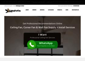 ceilingfancity.com