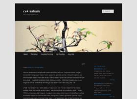 ceksaham.wordpress.com